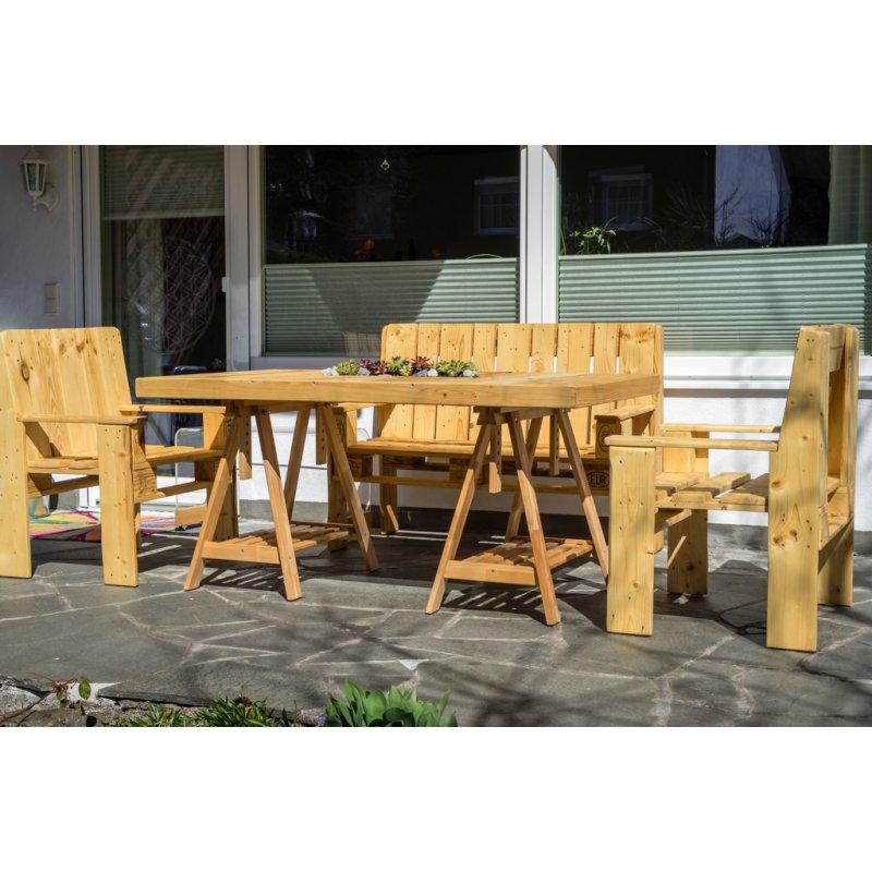 Gartenmöbel-Set :: Sitzgruppe aus Europalette